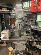 "Bridgeport Series 1, 1.5 HP Milling Machine w/Power Feed, 9"" x 42"", Anilam Digital Readout, 3 Phase"