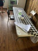 Lifetime 8' Plastic Folding Table w/Metal Legs