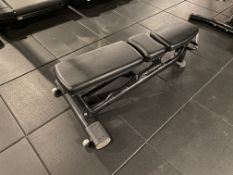 Life Fitness #SMAB Adjustable Setting Fitness Bench