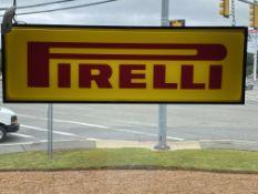 Pirelli Tires Illuminated Sign