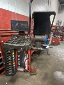 Hunter Road Force Touch Model 6SP9700 Tire Balance Machine w/ Weights.SIN:AACC2635. Single Phase