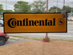 Continental Tires Illuminated Sign