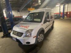 2012 Ford Transit Connect XLT Cargo Van w/ Dark Cloth Interior. Miles: 78,810 VIN#: