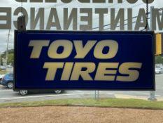 Toyo Tires Illuminated Sign