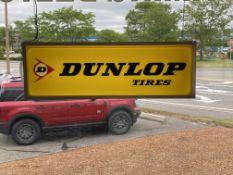 Dunlop Tires Illuminated Sign
