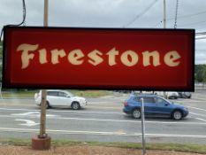 Firestone Tires Illuminated Sign