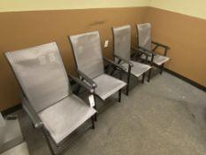 (4) Folding Patio Chairs