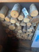 {LOT} Birch & Asst. Logs - Display Unit (No Backing, Just Logs)