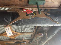 (5) Vintage Wood Carnival Horse Racing Displays