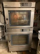 Miwe #EC10-1826 Double Stack Electric Convection Oven Econo Double Stack, 208V, 3 Phase w/SS Stand