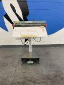 Mercier # ME600FC Plastic Wrap Sealer w/ Foot Pedal & Cutter