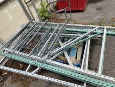(Lot) Asst. 7' H Pallet Rack Ends (Uprights)