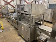 Ossid Heat Seal/Shrink System, Liquid Cooled, w/ Ossid 500 Ess Over Wrap Tray Sealer w/ Indexing