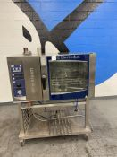 Electrolux # Air 0 Steam Natural Gas SS Combi Oven w/ SS Port Stand