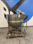 Groen # INA/2 150 Gal. Jacketed Kettle w/ SS Blender SN: 96953-1