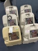 (6) Invacare Platinum XL Oxygen Concentrator