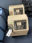 (2) Invacare Mobile Aire V Oxygen Concentrator
