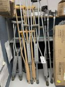 (Lot) New Asst. Under Arm and Forearm Crutches