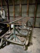 12 Rung 7' Port. Steel Drying Rack