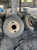(Lot) (7) Asst. Truck Tires