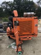 Morbark Chipper w/Cummins 6 Cylinder Diesel Motor & Pintle Hitch (Runs)