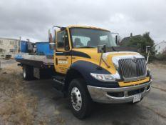 2007 International 4400 SBA 4x2, Diesel, 1 H Ramp Truck w/ 21' Bed, 6 Wheel, Auto, GTD285 7.6 Liter,