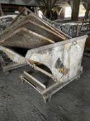 Steel Hopper Approx. 3'x4'
