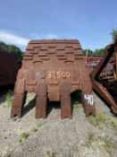 Excavator Bucket 19 Cubic Yards 37,500 Lbs. For Liebherr - Can be modified to fit Komatsu,