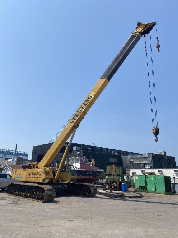 CONSTRUCTION EQUIP. - CAT 345 EXCAVATOR - (3) CRANES - (3) POWER PACKS - 15K FORKLIFT - DRUM WINCHES - (30+) BUCKETS