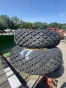 (4) Tires c/o: (2) #TR387 & (2) 11.2.24