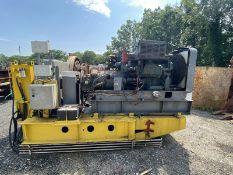 American 250 Triple Drum Mechanical Winch BABIT BEARING MACHINE 40-50K LINE PULL w/Diesel 6