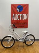 "Giant Adore 21"" White Girls Bike $295 Retail"