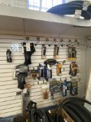 (Lot) On Wall Asst. Tire Accessories ( Duro, Continental, Schwalbe, Tufo Range From $26- $76 Retail