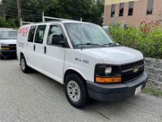 2011 Chevrolet Express Cargo Van, V6 Gas, Odom: 75,000, VIN#: 1GCSGAFX5B1176070