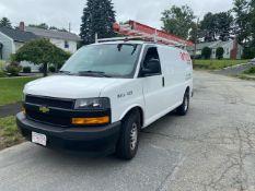2018 Chevrolet Express Cargo Van, V6 Gas, Odom: 65,000, Vin#: 1GCWGAFP2J1206254