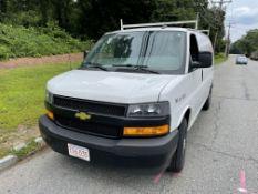 2018 Chevrolet 2500 Express Van, 6 Cylinder Gas, 4.3L, Odom: 64,517, Vin#: 1GCWGAFP6J1260575