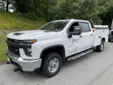 2020 Chevrolet Silverado 4 Door CrewCab Utility Body Truck, 4x4, 8 Cyl Gas, 6.6L Engine, Odom:16,099