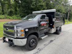 2019 Chevrolet Silverado 5500 HD Duramax Diesel, 12' Voth Roll Off Dump Body, Dually, Odom: 2,783,