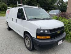 2018 Chevrolet Express Van 2500, Gas, 6 Cylinder, 4.3L, Odom: 64,201, Vin#: 1GCWGBFP3J1217169