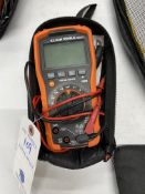Klein #MM600 Meter w/ Case and Leads
