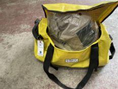 Oberon Cat 40 Series Arc Flash Hood, Gloves, and Suit (NIB) w/ Bag