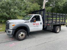 2012 Ford F450 Rack Body Truck, V10 Gas, w/12' Rack,Liftgate, Odom: 157,500, VIN#: 1FDUF4GY1CEB79297