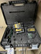 DeWalt 3 Axis Laser Level w/ Magnetic Mount, 12v Battery, and Charger
