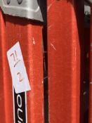 (2) 6' Louisville Fiberglass Step Ladders. 300lb Capacity. Type 1A