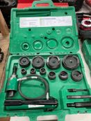 Greenlee #767 Hydraulic Punch Knock Out Kit w/ Case