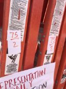(2) 6' Werner Fiberglass Step Ladders