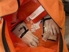 Pro Wear Salisbury Arc Flash Suit Size Xl Color Grey w/ Bag