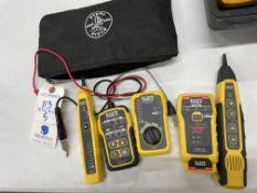 (5) Asst. Klein Test Meters (See Pic For Description)