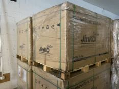 (25) Panels of JinKo Solar #JKM270PP-60, (NEW IN BOX ON PALLET) Nomimal Power 270W, Cell Type: