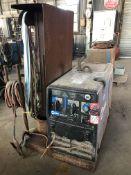 Miller Bobcat 225 CC/CV, AC/DC Welding Power Source 11000 W Generator, s/n MB150213H (Location: